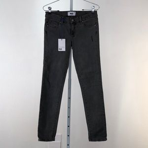 Paige Gray Peg Skinny Jeans, NWT Size 27